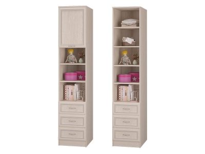 Шкаф для книг с 3-мя ящ и дверкой Верона
