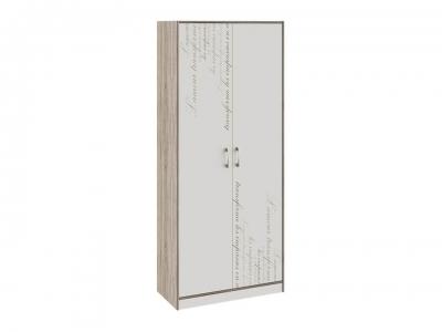 Шкаф для одежды Брауни ТД-313.07.22 Бежевый с рисунком, Дуб Сонома трюфель