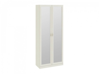 Шкаф для одежды с 2 зеркальными дверями Лючия СМ-235.22.02 Штрихлак