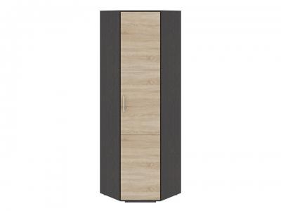 Шкаф для одежды угловой Успех-2 ПМ-184.19 Венге Цаво, Дуб Сонома