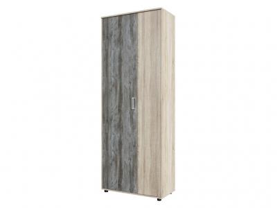 Шкаф двухстворчатый комбинированный Визит 1 800х2144х390 Дуб Сонома/Сосна Джексон