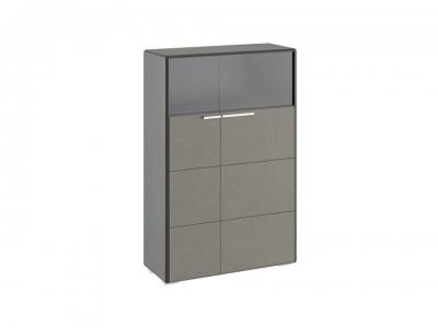 Шкаф комбинированный с 2 дверями Наоми ТД-208.07.29 Джут, Серый