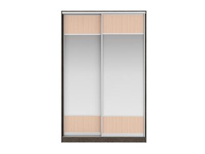 Шкаф-купе Джонни Вариант 4 Фасады Зеркало/ЛДСП