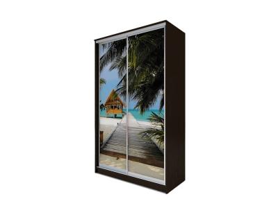 Шкаф-купе Хит 2-х дверный Море Венге Аруба