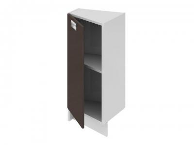 Шкаф напольный нестандартный торцевой левый НнТ_72-40(45)_1ДР(Б) Бьюти Грэй