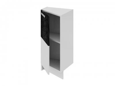Шкаф напольный нестандартный торцевой левый НнТ_72-40(45)_1ДР(Б) Фэнтези Лайнс