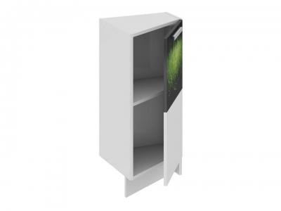 Шкаф напольный нестандартный торцевой правый НнТ_72-40(45)_1ДР(А) Фэнтези Грасс