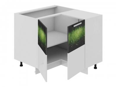 Шкаф напольный нестандартный угловой 90 НнУ90_72_2ДР(НнУ) Фэнтези Грасс