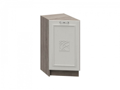 Шкаф напольный торцевой с декором НТ_72-40(45)_1ДР(Д) Сабрина
