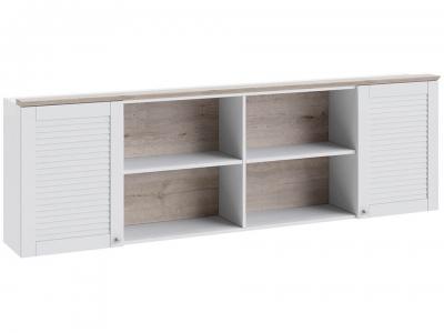 Шкаф настенный Ривьера ТД-241.12.21 Дуб Бонифацио, Белый