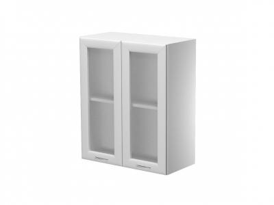 Шкаф навесной 2 дверцы со стеклом ШН.60.7В.2 600х300х720