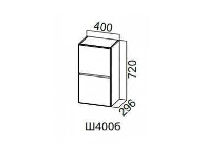 Шкаф навесной 400 барный Ш400б Лофт