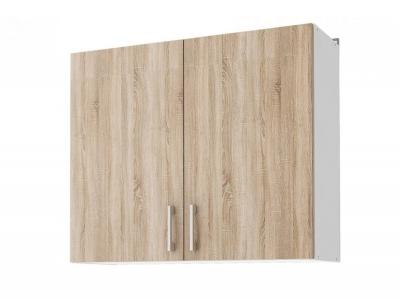 Шкаф навесной 80 Уют СТЛ.275.02 Белый-Дуб сонома