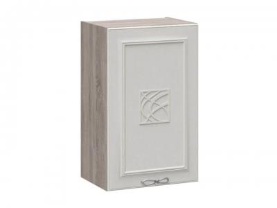 Шкаф навесной с декором В_72-45_1ДР(Д) Сабрина