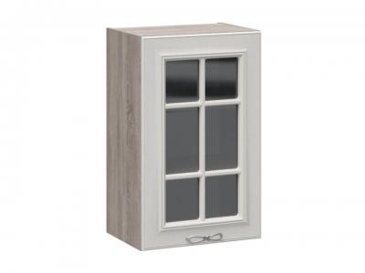 Шкаф навесной со стеклом В_72-45_1ДРс Сабрина