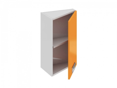 Шкаф навесной торцевой правый ВТ_60-40(45)_1ДР(Б) Бьюти Оранж