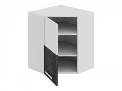 Шкаф навесной угловой 45 левый ВУ45_72-(40)_1ДР(А) Фэнтези Лайнс