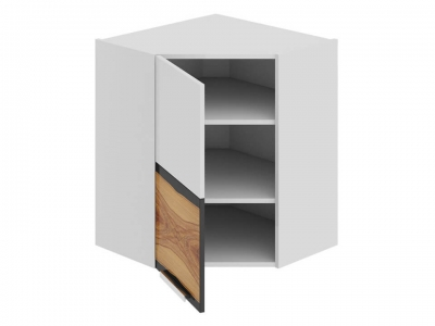 Шкаф навесной угловой 45 левый ВУ45_72-(40)_1ДР(А) Фэнтези Вуд