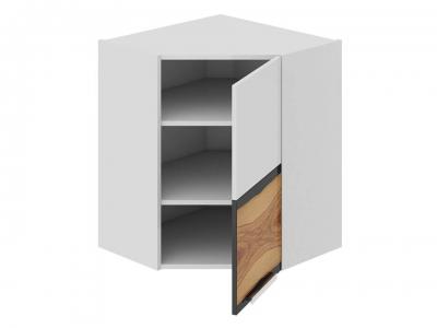Шкаф навесной угловой 45 правый ВУ45_72-(40)_1ДР(Б) Фэнтези Вуд