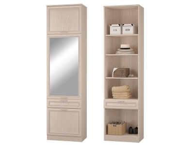 Шкаф пенал с ящиками и дверками Верона