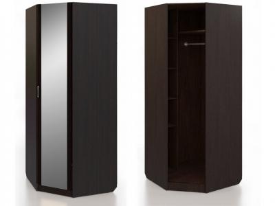 Шкаф угловой с зеркалом Нокс Н 1.0.7