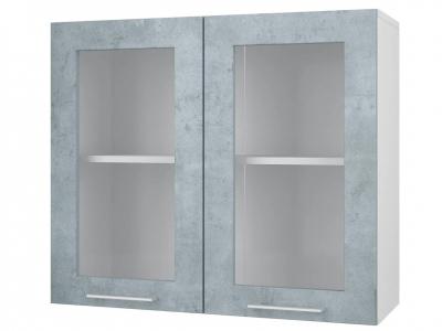 Шкаф-витрина 80 Лофт 800х700х300