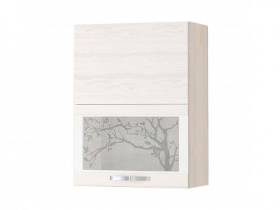 Шкаф-витрина плавное закрывание 74.80.1 Графит 600х320х810