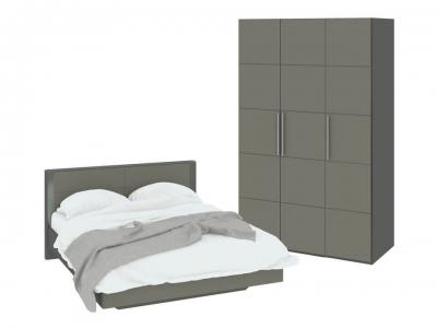Спальный гарнитур Наоми ГН-208.000 Серый, Джут