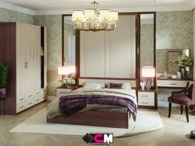 Спальня Гармония шимо темный-шимо светлый