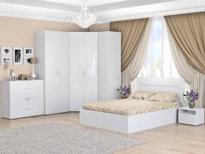 Спальня Тиффани белый снег