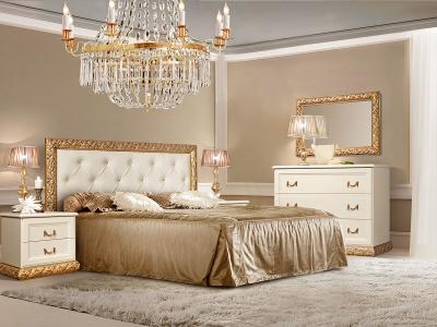 Спальня Тиффани Штрих золото