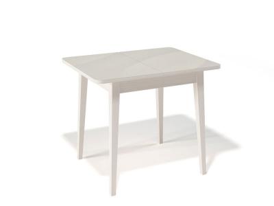 Стол Kenner 900 M крем/стекло крем