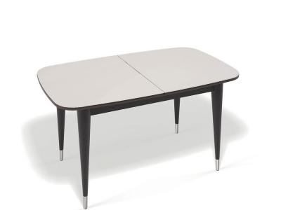 Стол Kenner K1250 венге/стекло крем