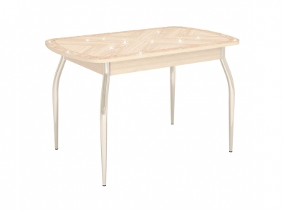 Стол обеденный Орфей-30.10 Дуб Кобург 1200(2000)х750х750