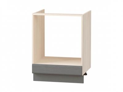 Стол под встраиваемую технику с выдвижным ящиком 74.57 Графит 600х530х820