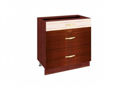 Стол с 3 ящиками - метабоксы 11.67 Каролина 800х530х820