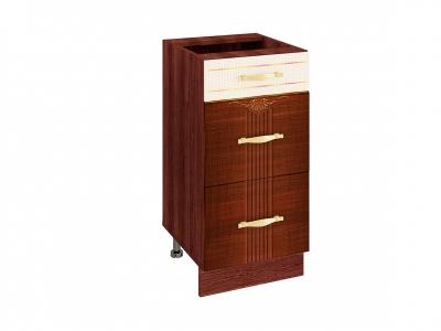 Стол с 3 ящиками плавное закрывание 11.90 Каролина 400х530х820