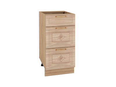 Стол с 3 ящиками плавное закрывание 73.90 Шарлотта 400х530х820