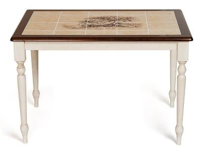 Стол с плиткой Ct 3045p рисунок Дерево