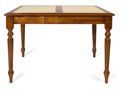 Стол с плиткой раскладной (ct2950t) Тёмный Дуб + Плитка без Рисунка