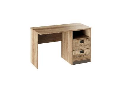 Стол с ящиками Пилигрим ТД-276.15.02 Дуб Каньон светлый, Серый
