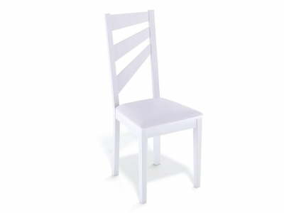 Стул Kenner 139М белый/экокожа белый