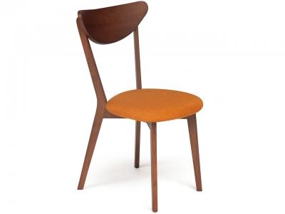 Стул Maxi мягкое сиденье Оранжевый + Коричневый