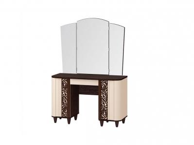 Туалетный стол с зеркалом 92.06 Катрин 1200х490х1720