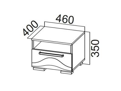 Тумба прикроватная Лагуна - 5 450x460x400