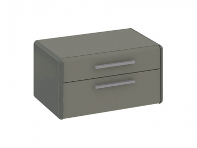 Тумба прикроватная Наоми ТД-208.03.01 Серый, Джут