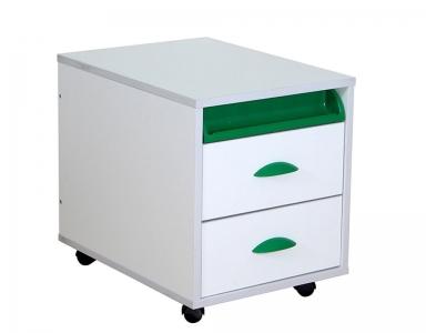 Тумба ТУВ.01-01 белый зеленый