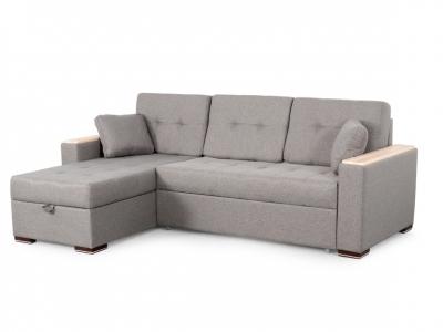 Угловой диван Монако 1 2 вариант Серый